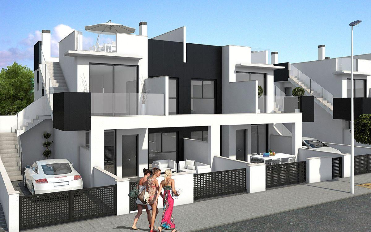 Viviendas en la playa de las higuericas en torre de la horadada zapata projects s l - Casas en pilar dela horadada ...