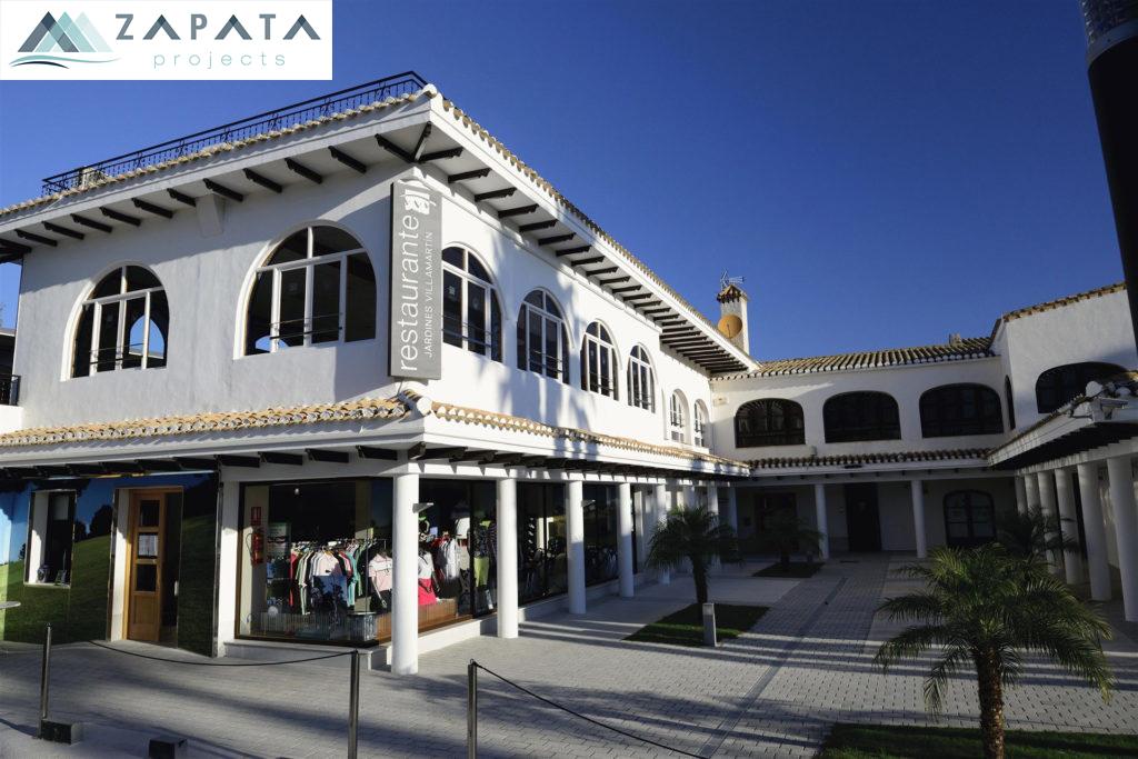 Campo de Golf Villamartin-Restaurante-Shop-Inmuebles y Promociones Zapata