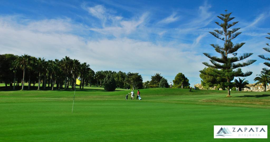 Campo de golf -Real Club de Golf Campoamor-Inmuebles Y Promociones Zapata