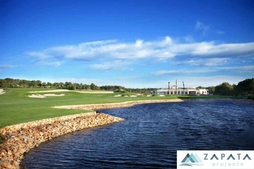Las Colinas Golf-Campo de Golf-Inmuebles y Promociones Zapata