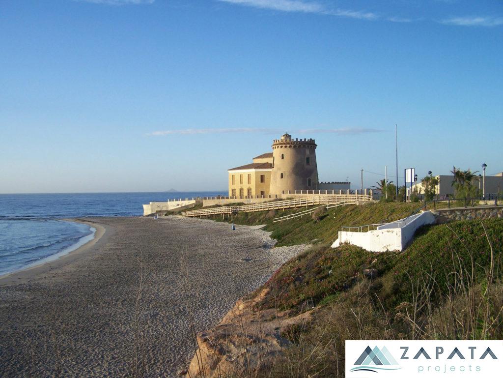 Playa del Conde-Torre de la Horadada-Promociones Zapata