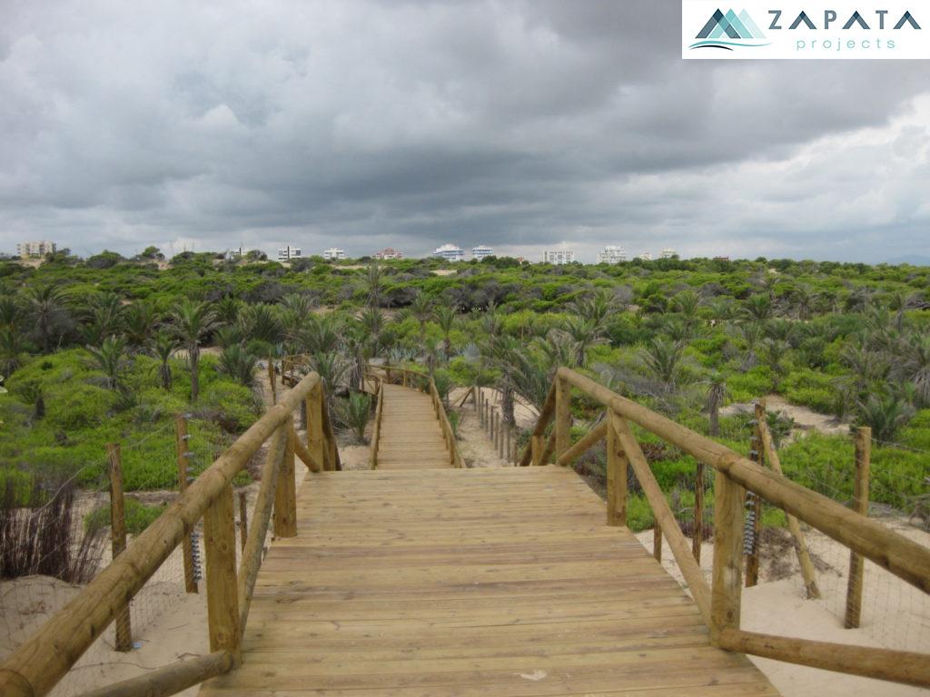 las dunas y pinada de guardamar-lugares de interes-inmuebles y promociones zapata