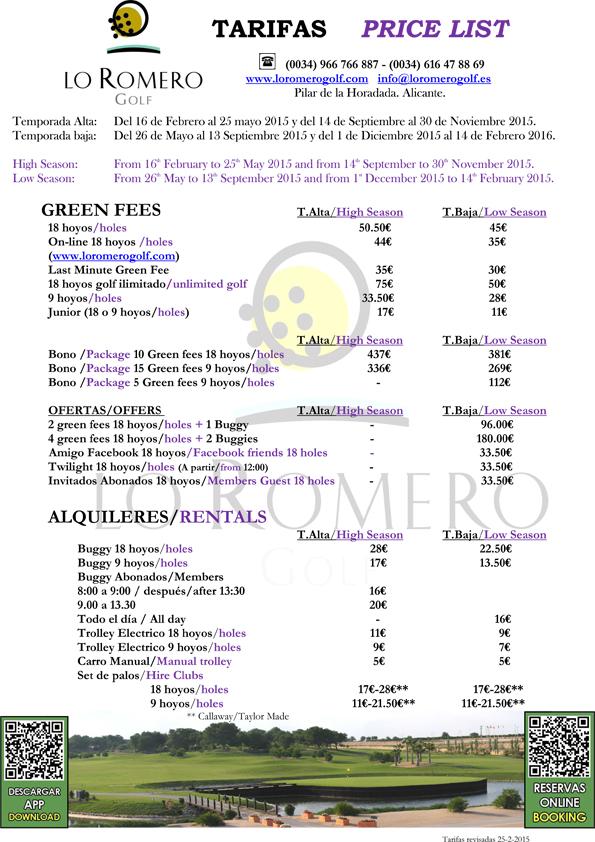 Campo de Golf Lo Romero Promociones Zapata