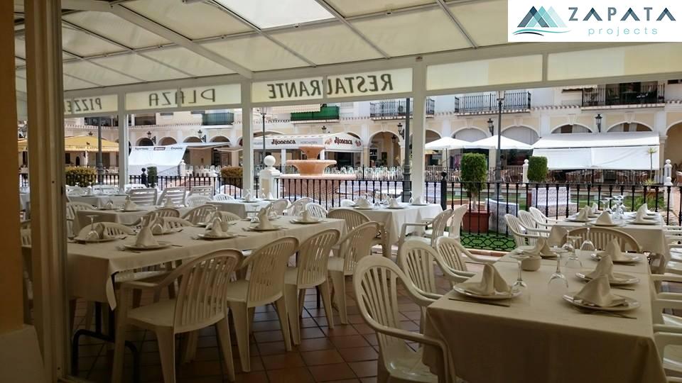 restaurante pizzeria plaza-torre de la horadada-inmuebles y promociones zapata