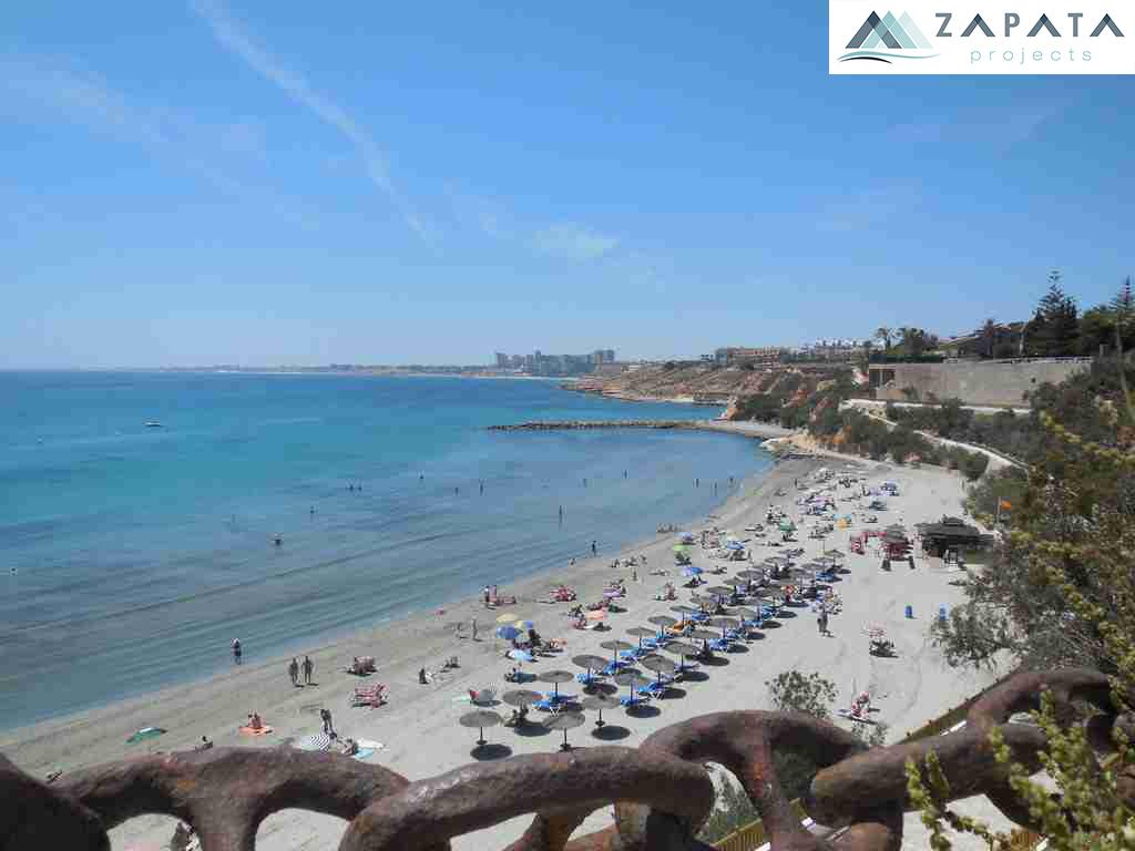 playa la caleta-playa cabo roig-promociones zapata